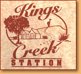 Kings Creek Station - Accommodation Fremantle
